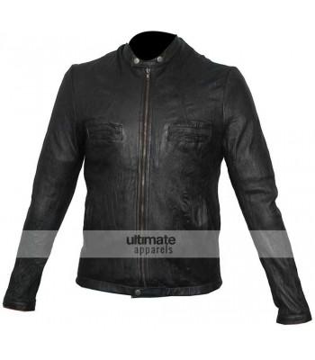 17 Again Zac Efron Oblow Black Leather Jacket