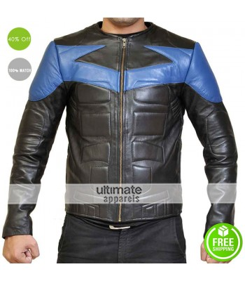 Batman Nightwing Halloween Cosplay Costumes Jacket