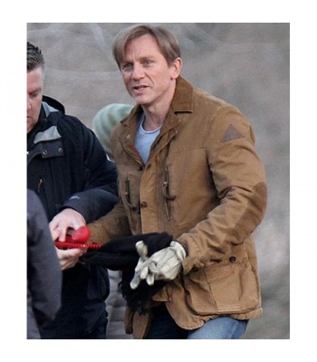 Dream House Daniel Craig Brown Leather Jacket
