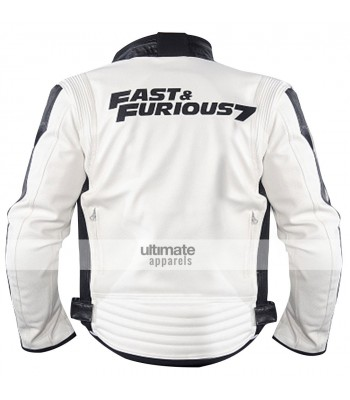 Fast and Furious 7 Premiere Vin Diesel White Jacket