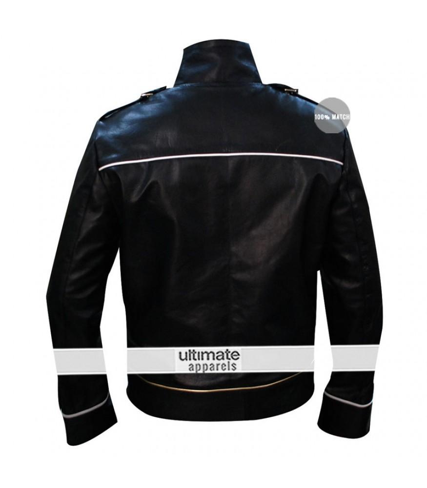 fae87eb92 Freddie Mercury Black Leather Jacket