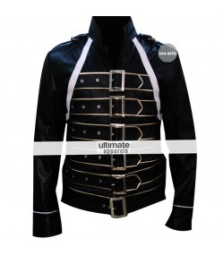 Freddie Mercury Black Leather Jacket