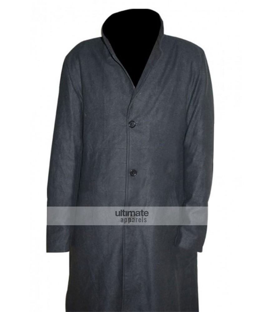 Cullen Bohannon Hell On Wheels Grey Woolen Coat