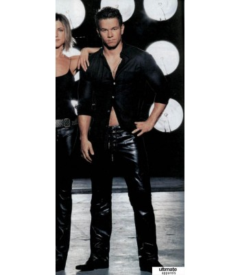 Mark Wahlberg Superstar Leather Pant