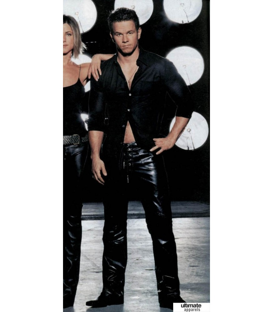 Mark Wahlberg Superstar Leather Pant