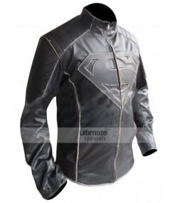 Smallville Premium Superman Black Buff Jacket