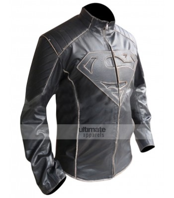 Smallville Premium Superman Black Buff Jacket