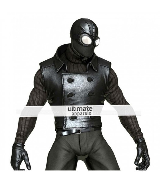 Spiderman Noir Replica Marvel Heroes Costume Vest