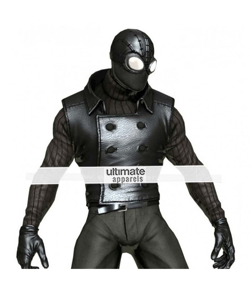spiderman noir replica marvel heroes costume vest. Black Bedroom Furniture Sets. Home Design Ideas