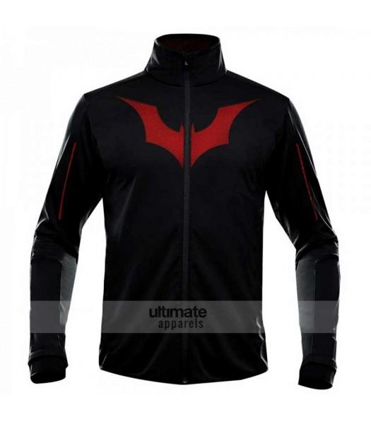 Terry McGinnis Batman Beyond Black Athletic Jacket
