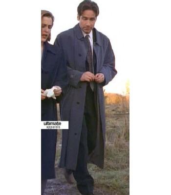 X-Files David Duchovny (Fox Mulder) Trench Coat
