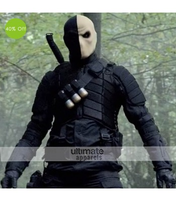 Arrow Billy Wintergreen Black Costume Jacket