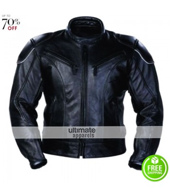 Australian Bikers Gear Razor Classic Armoured Motorcycle Jacket
