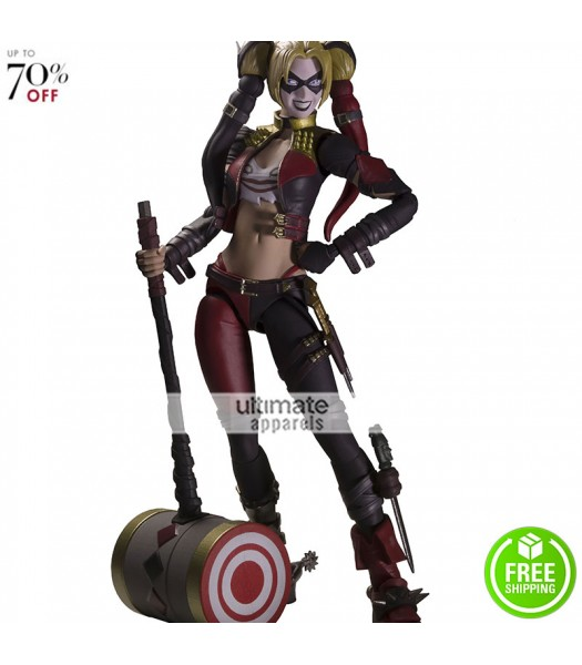 Injustice Harley Quinn Insurgency Costume Jacket