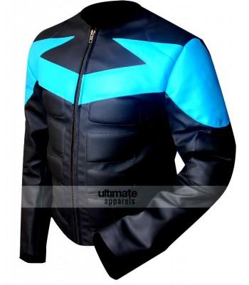 Ismahawk Nightwing Series Danny Shepherd Costume Jacket