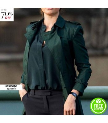 Mission Impossible 5 Rebecca Ferguson Ilsa Trench Coat