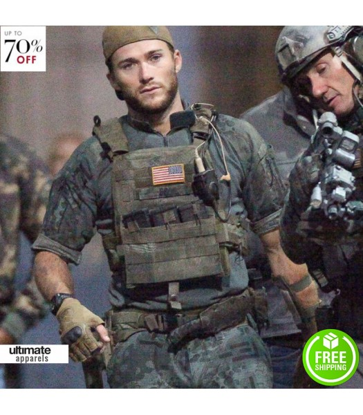 Scott Eastwood Suicide Squad Tactical Vest