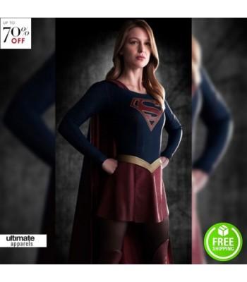 Supergirl Kara Zor‑El (Melissa Benoist) Costume Jacket