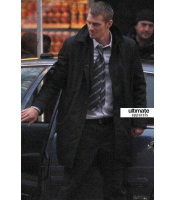The Killing Stephen Holder (Joel Kinnaman) Trench Coat