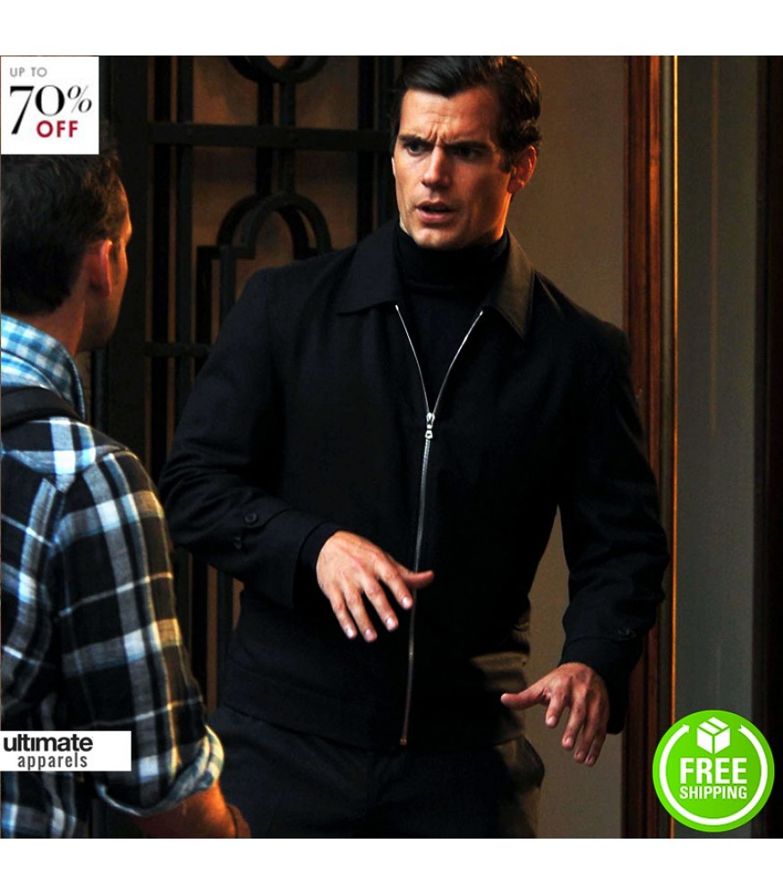 Man From Uncle Henry Cavill Napoleon Solo Jacket