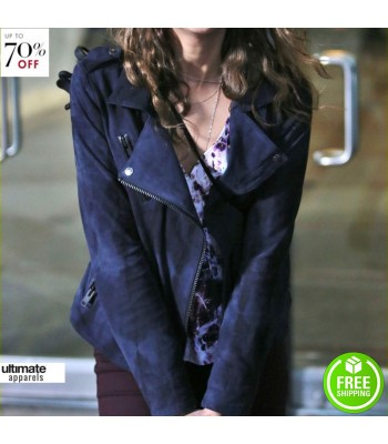 Willa Holland (Thea Queen) Arrow Season 2 Jacket