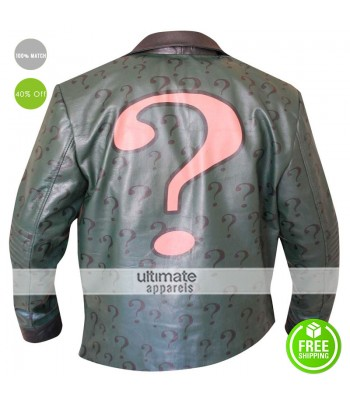 Batman Arkham City Riddler Costume Jacket