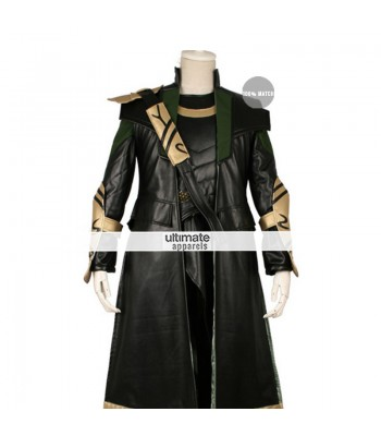 The Avengers Loki Cosplay Long Costume Jacket