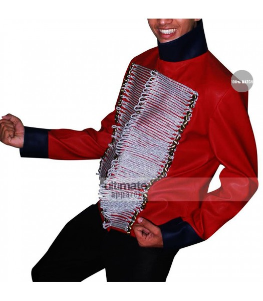 Captain John Hart Torchwood Red Jacket Costume