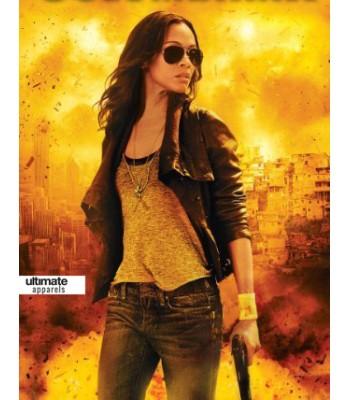 Colombiana Zoe Saldana (Cataleya Restrepo) Jacket