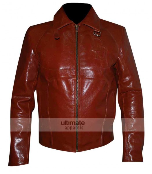 Daredevil Ben Affleck Leather Jacket Costume