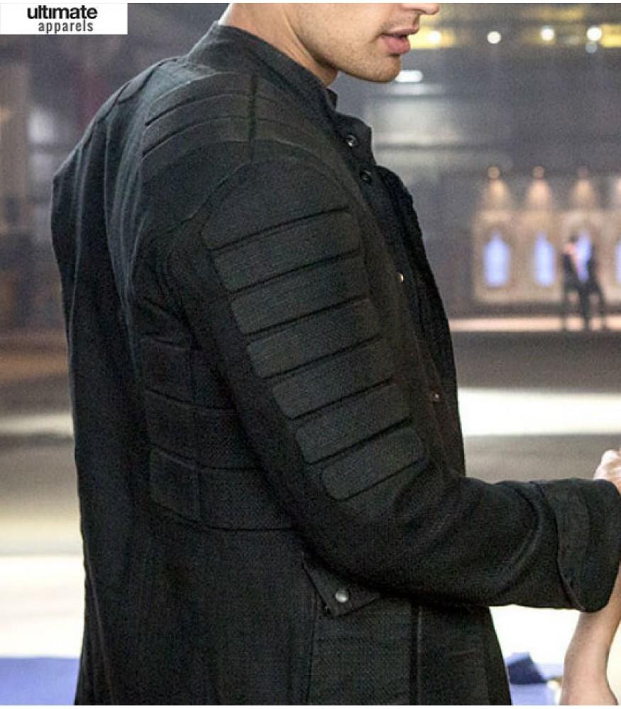 Insurgent Theo James (Tobias Eaton) Black Jacket
