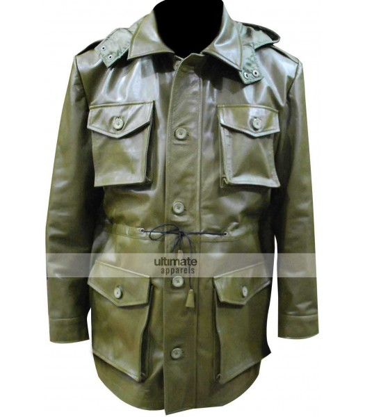 Killing Season John Travolta Green Jacket