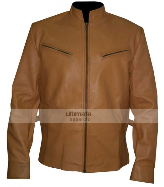 Next Nicolas Cage (Cris Johnson) Yellow Biker Jacket