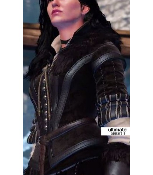 The Witcher 3 Wild Hunt Yennefer Costume Jacket