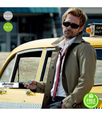 Constantine Movie Matt Rayan Long Men Coat