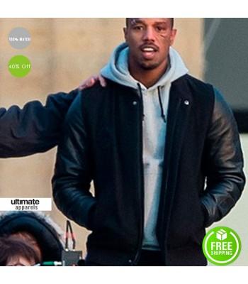 Creed Michael B Jordan (Adonis Creed) Hood Jacket