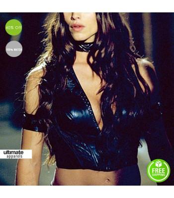 Daredevil Jennifer Garner (Elektra) Black Vest Costume