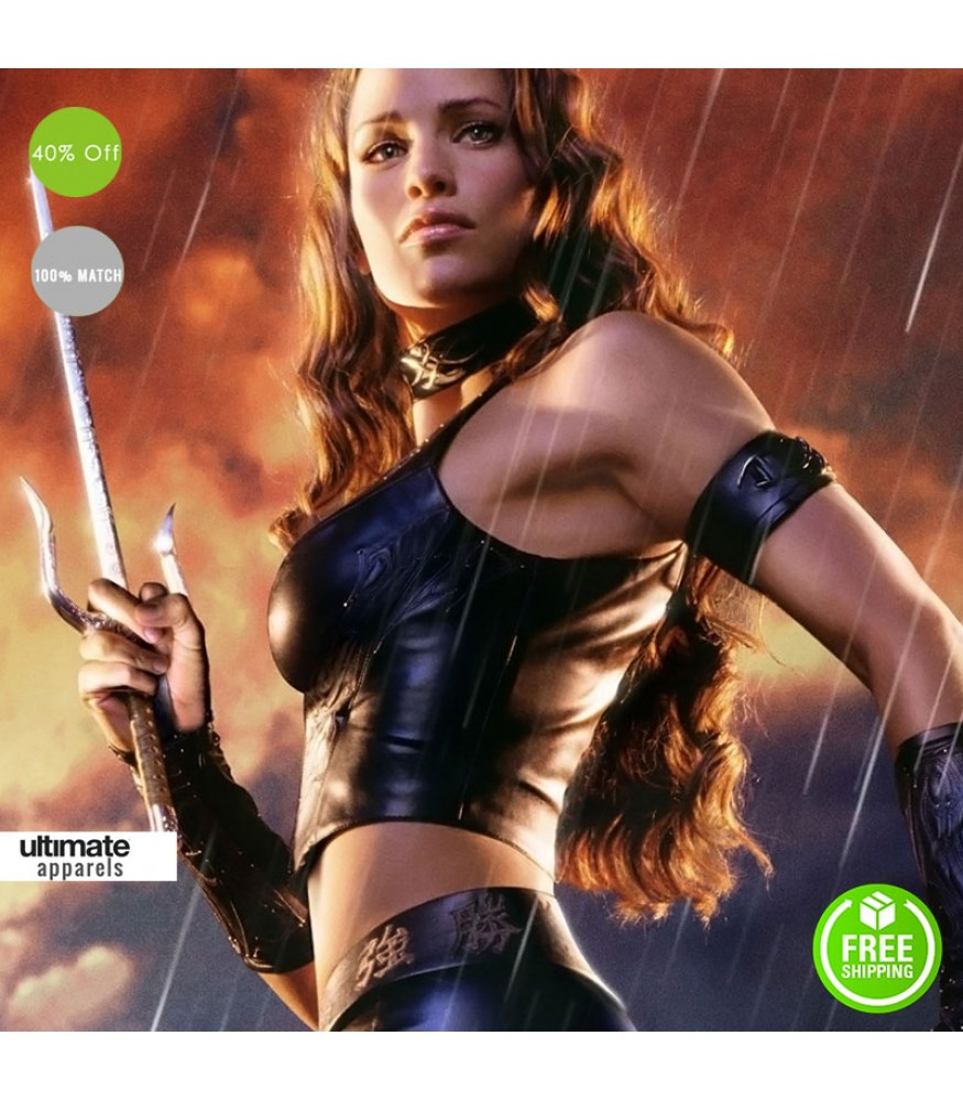 Elektra Costume: Daredevil Jennifer Garner (Elektra) Black Vest Costume