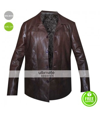 Jack Bauer 24 Kiefer Sutherland Brown Blazer Jacket
