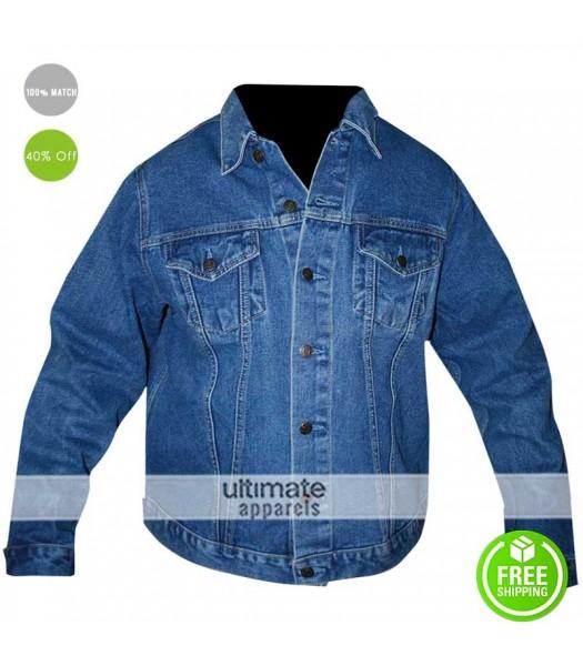 Mens Levi Blue Jean Denim Jacket
