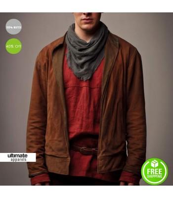 Merlin Colin Morgan (Marlin) Brown UK Costume Jacket