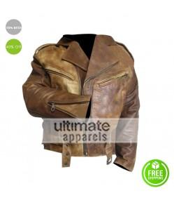 Passenger 57 Wesley Snipes (John Cutter) Leather Jacket