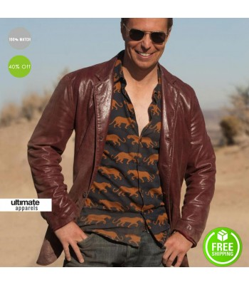 Seven Psychopaths Sam Rockwell (Billy) Leather Jacket