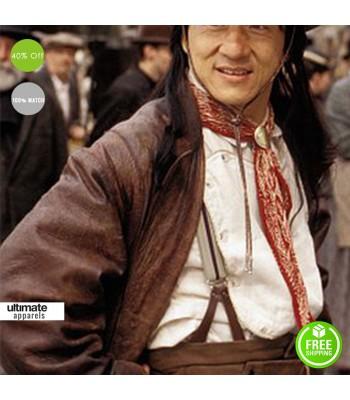 Shanghai Knights Jackie Chan (Chon Wang) Trench Coat