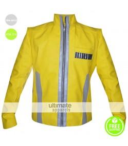 Star Wars New Hope Luke Skywalker Yellow Costume Jacket