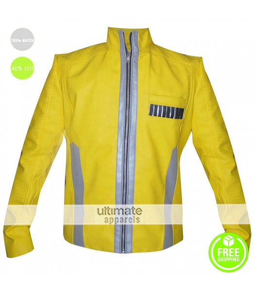 Star Wars New Hope Luke Skywalker Yellow Costume Jacket