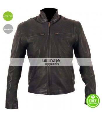 The Other Guys Mark Wahlberg (Terry Hoitz) Leather Jacket