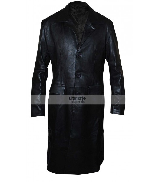 Angel David Boreanaz Black Leather Blazer Jacket Clothing