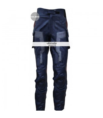Captain America Winter Soldier Chris Evans Leather Pant