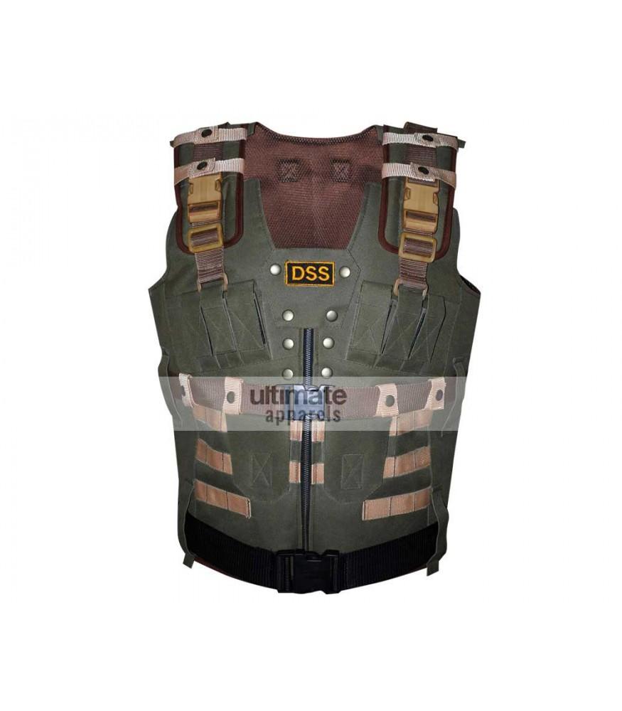 DSS Parachute Tactical Military Green Vest